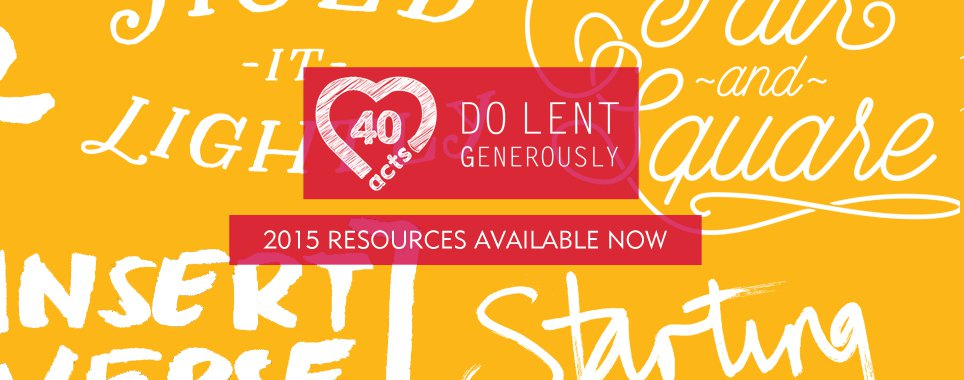 Do Lent Generously Surprise