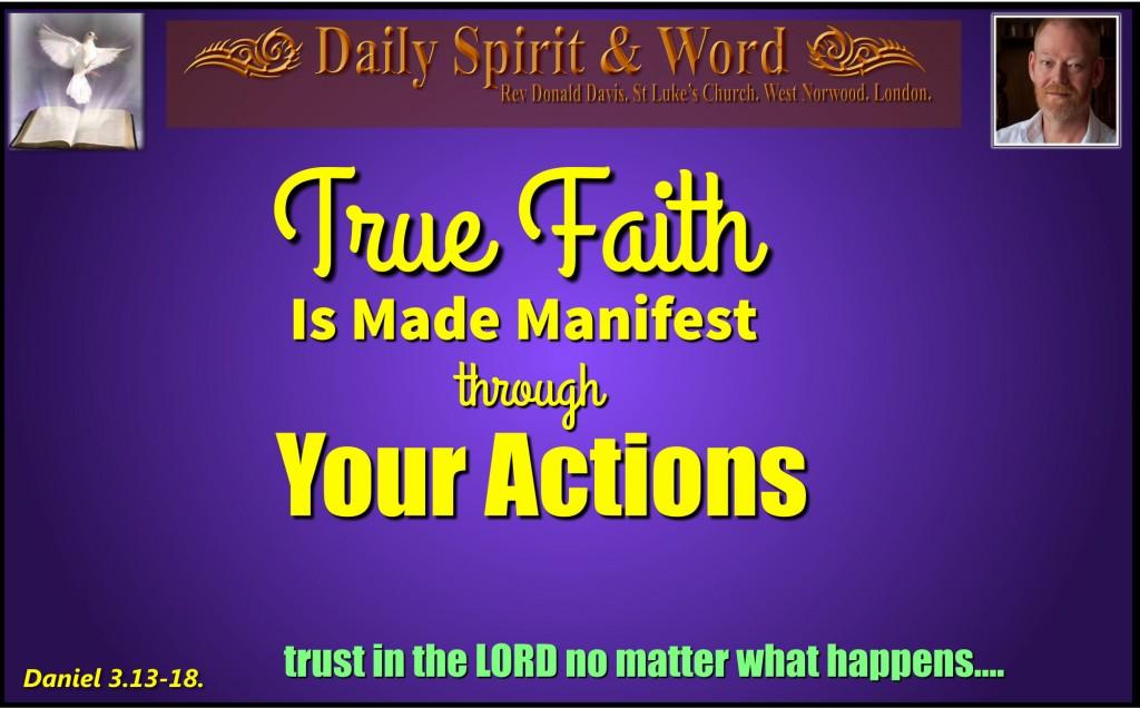 431 True Faith in Action