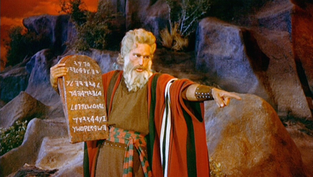 Moses Ten Commandments