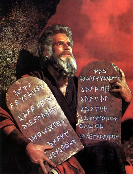 Moses-With-Commandments