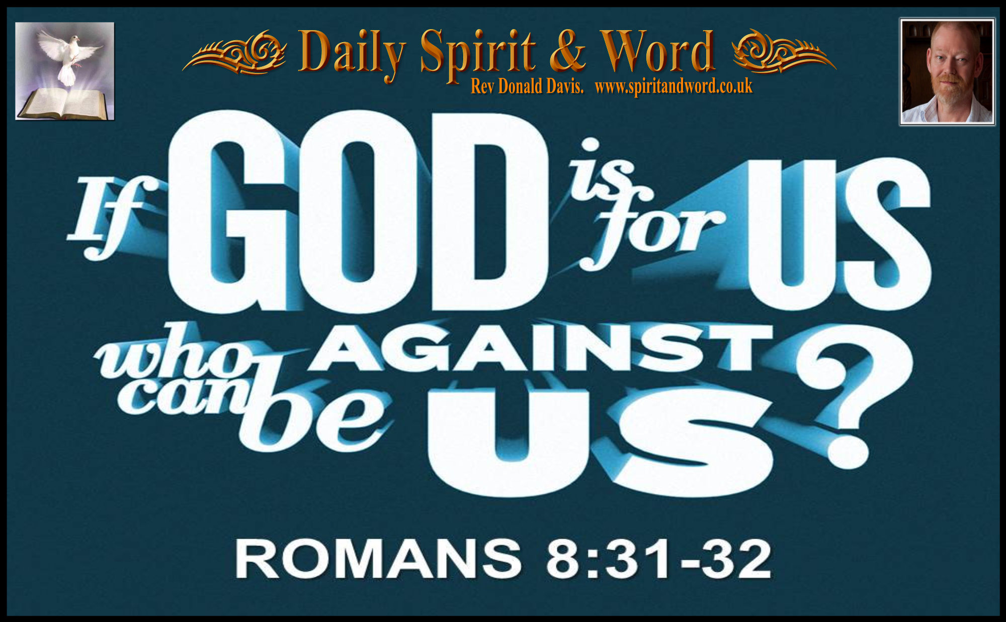 If God is for us, who can be against us