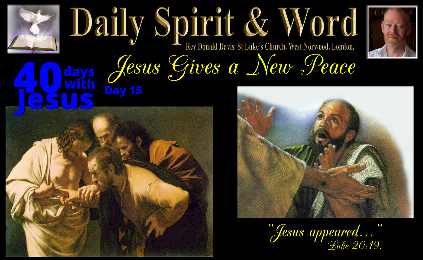 Jesus Gives A New Peace