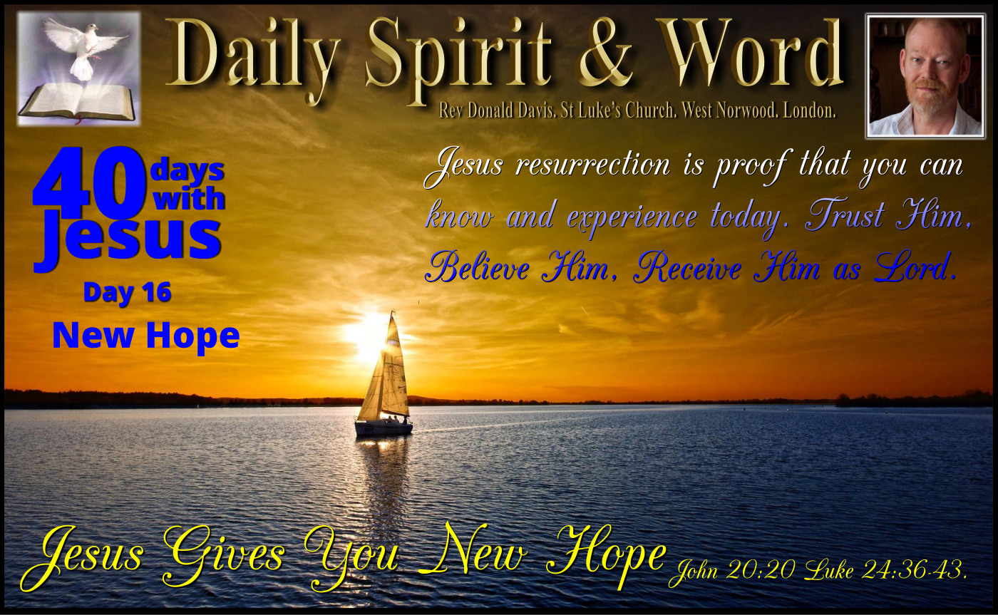New Hope on the Horizon With Jesus.