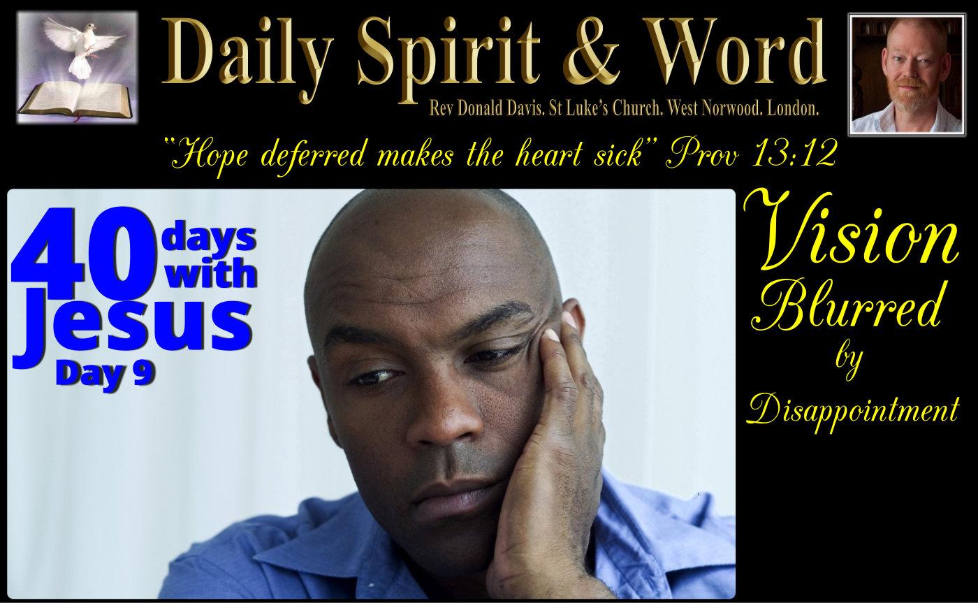 40 Days With Jesus: Day 9