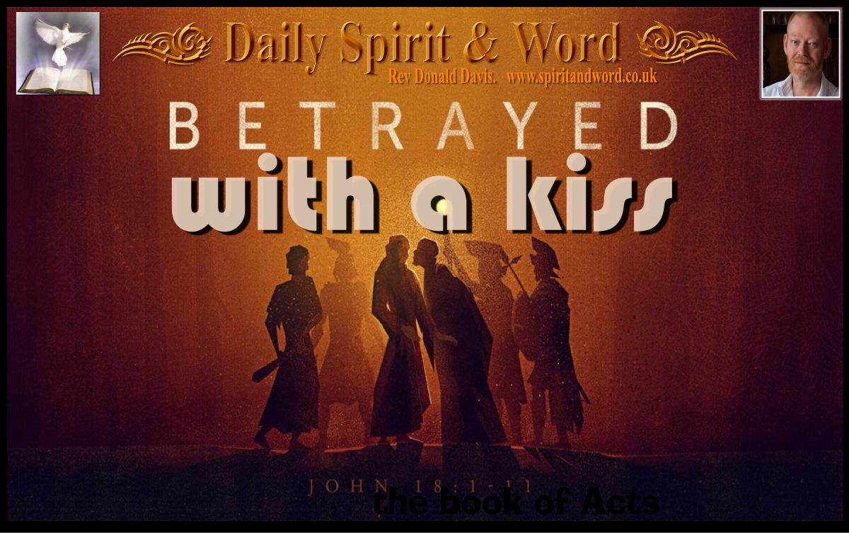 Jesus Betrayal by Judas