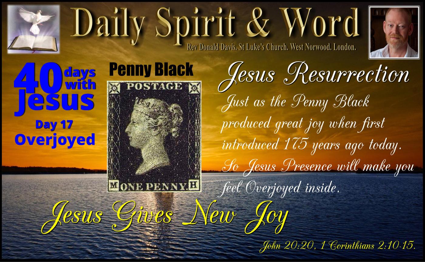 New Penny Black Overjoyed
