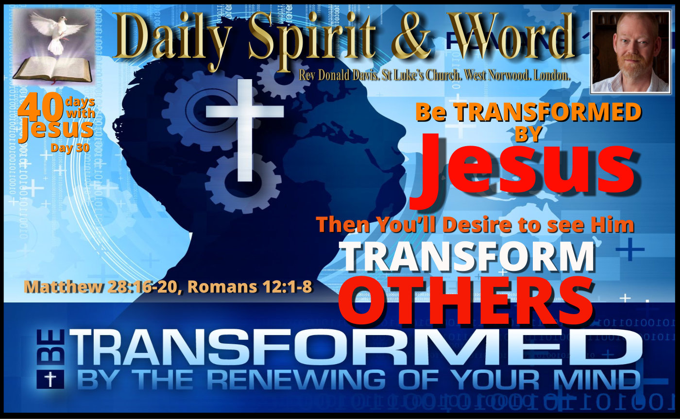 Transformation by Jesus