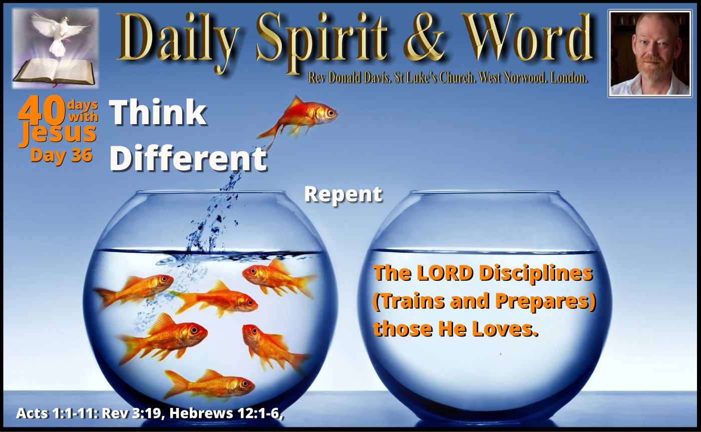 Training and Discipline of the Lord Jesus