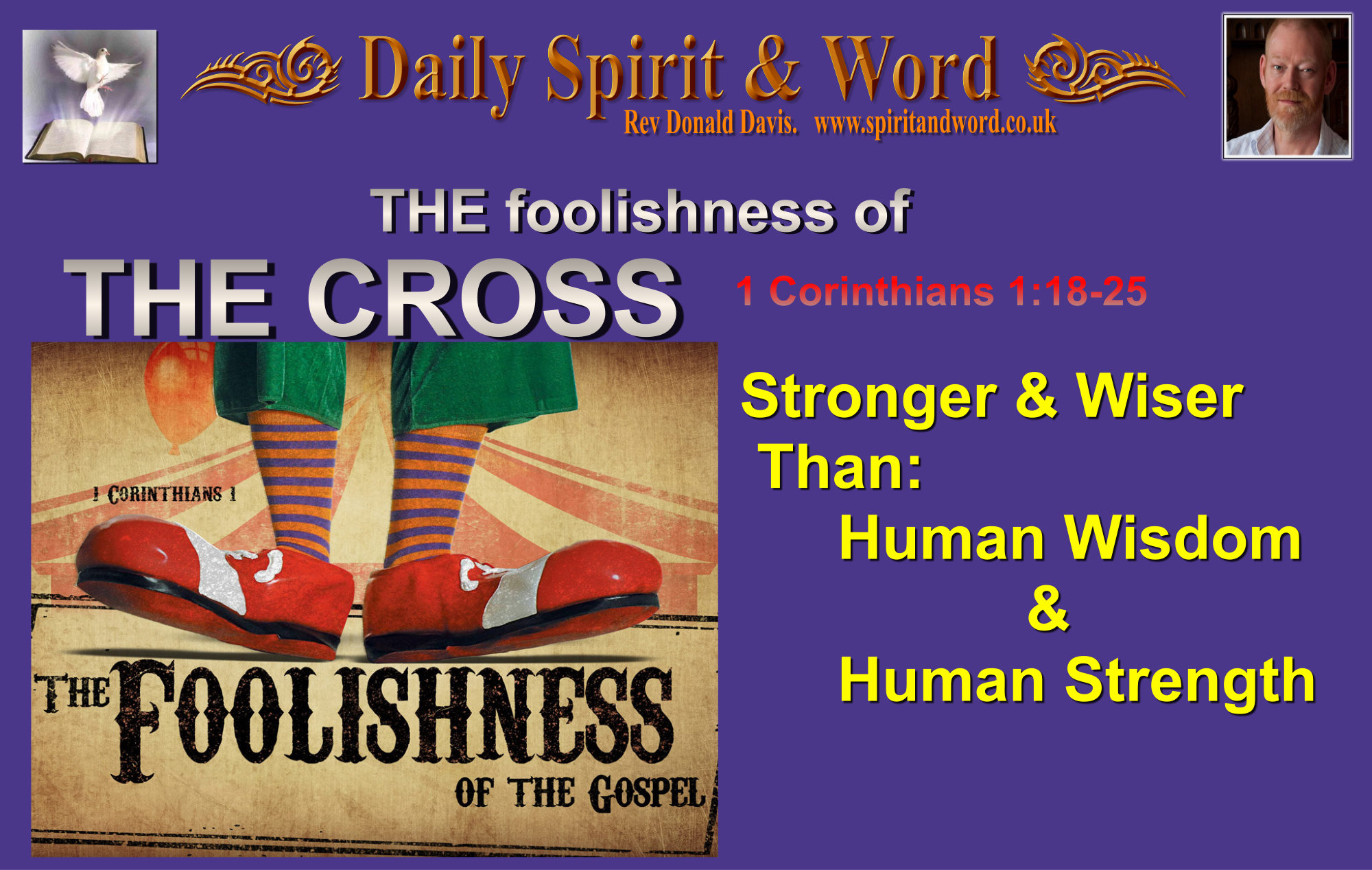 The foolishness of the Cross of Jesus