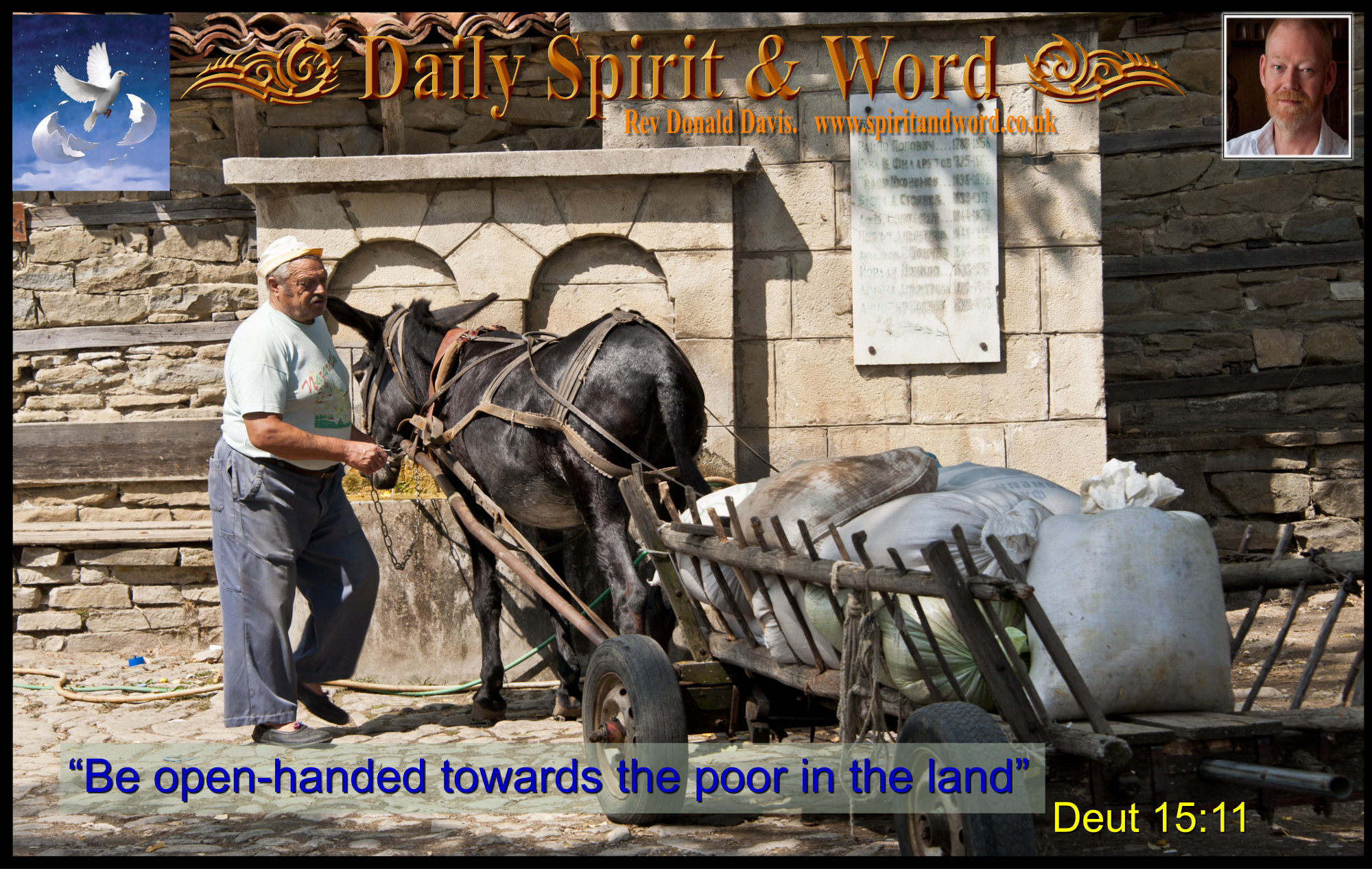 Be Open-Handed and Open-Hearted Towards The Poor.