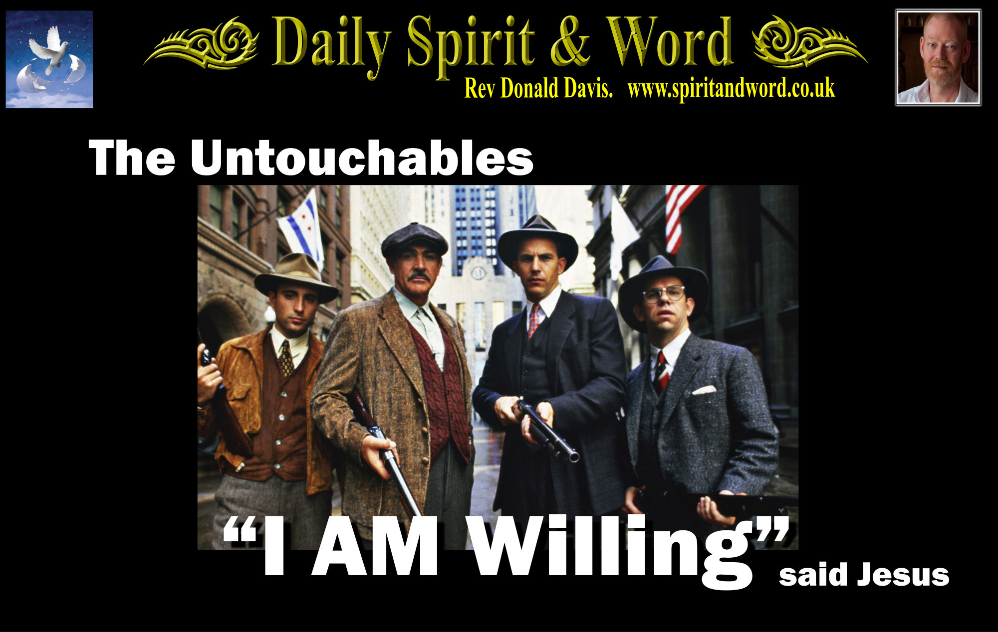 Jesus touches the untouchables and makes them clean