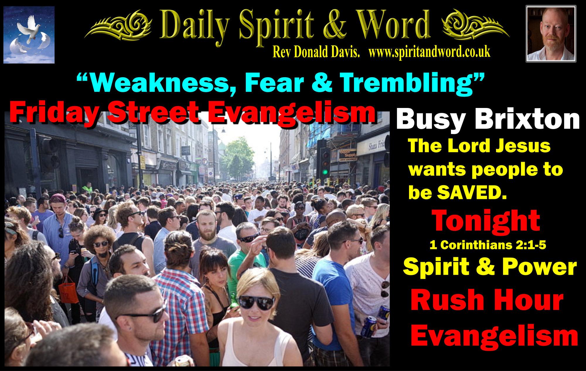 Rush Hour Evangelism