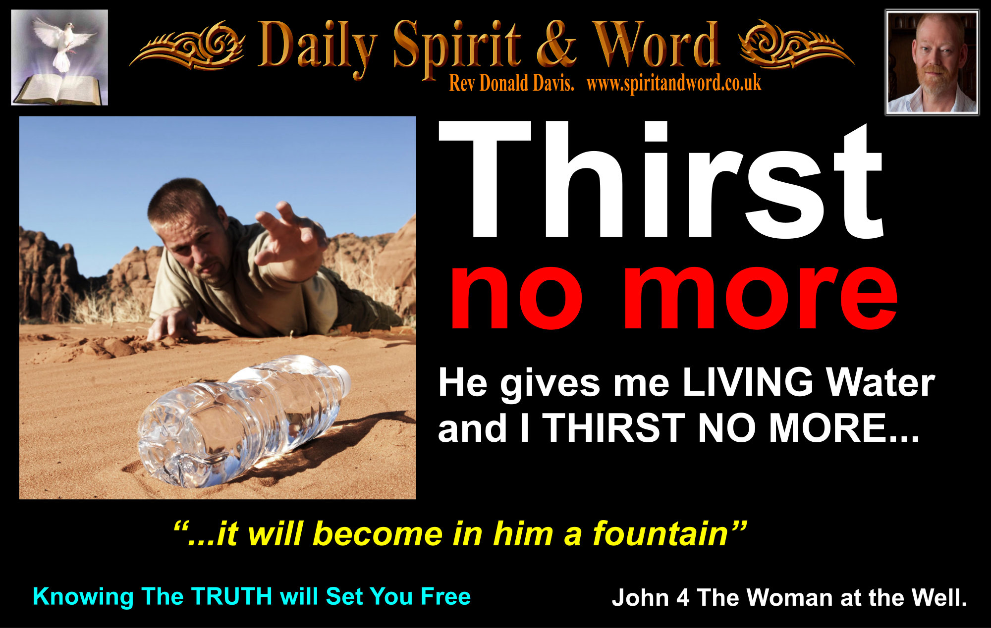 Living Water, Soul Satisfaction, Jesus