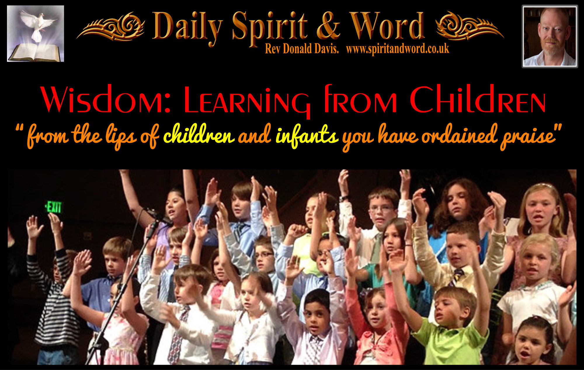 Wisdom: from children and infants