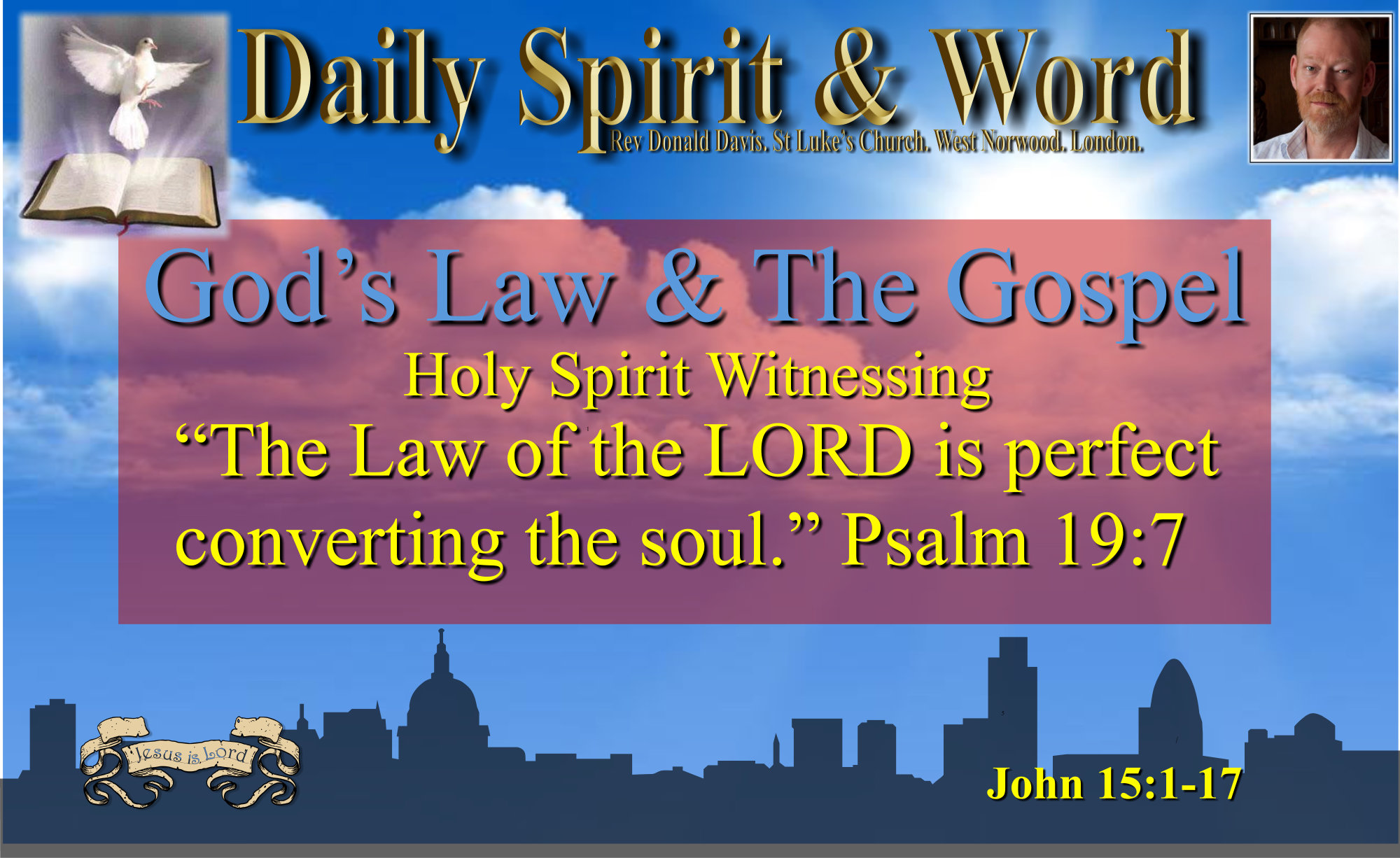 Using God's Law to lead to an awareness of our need for Jesus Christ.
