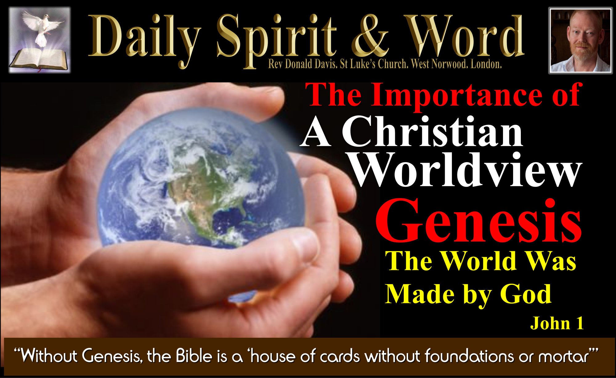 Foundations in God's Word: Genesis