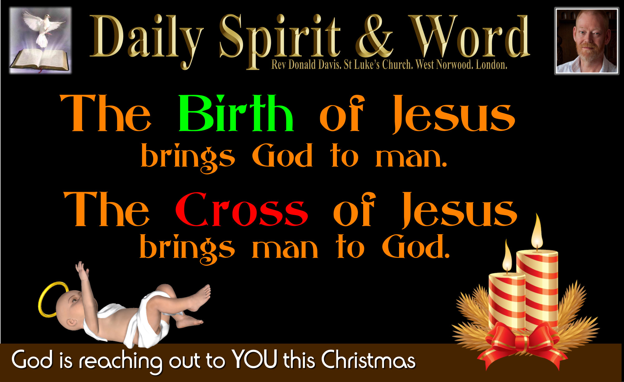 The Blessings of Christmas Jesus is God