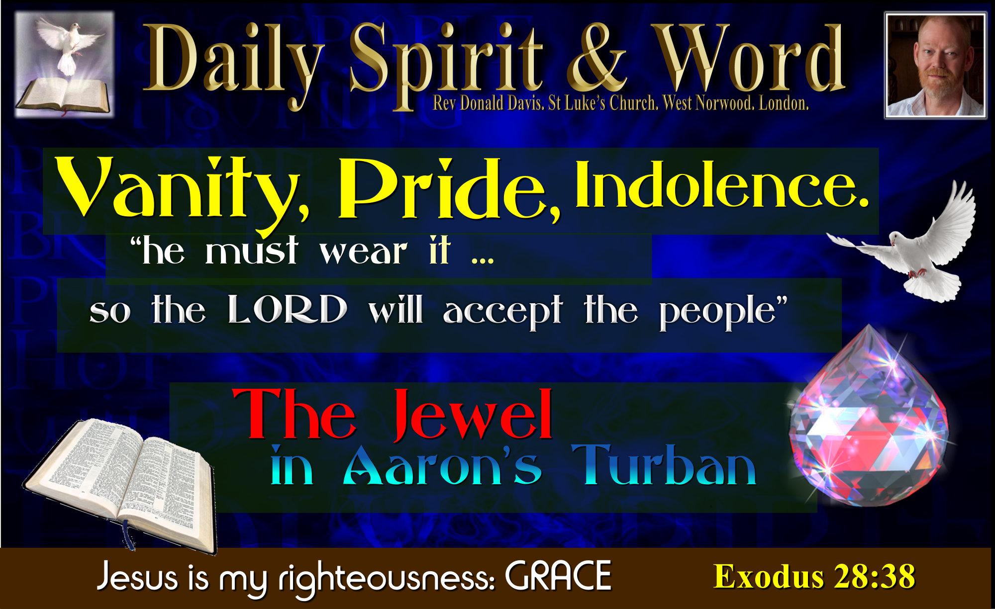 The Jewel in Aaron's Crown