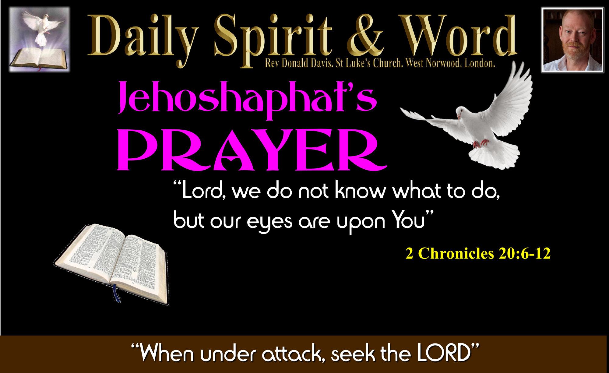 Jehoshaphat's prayer