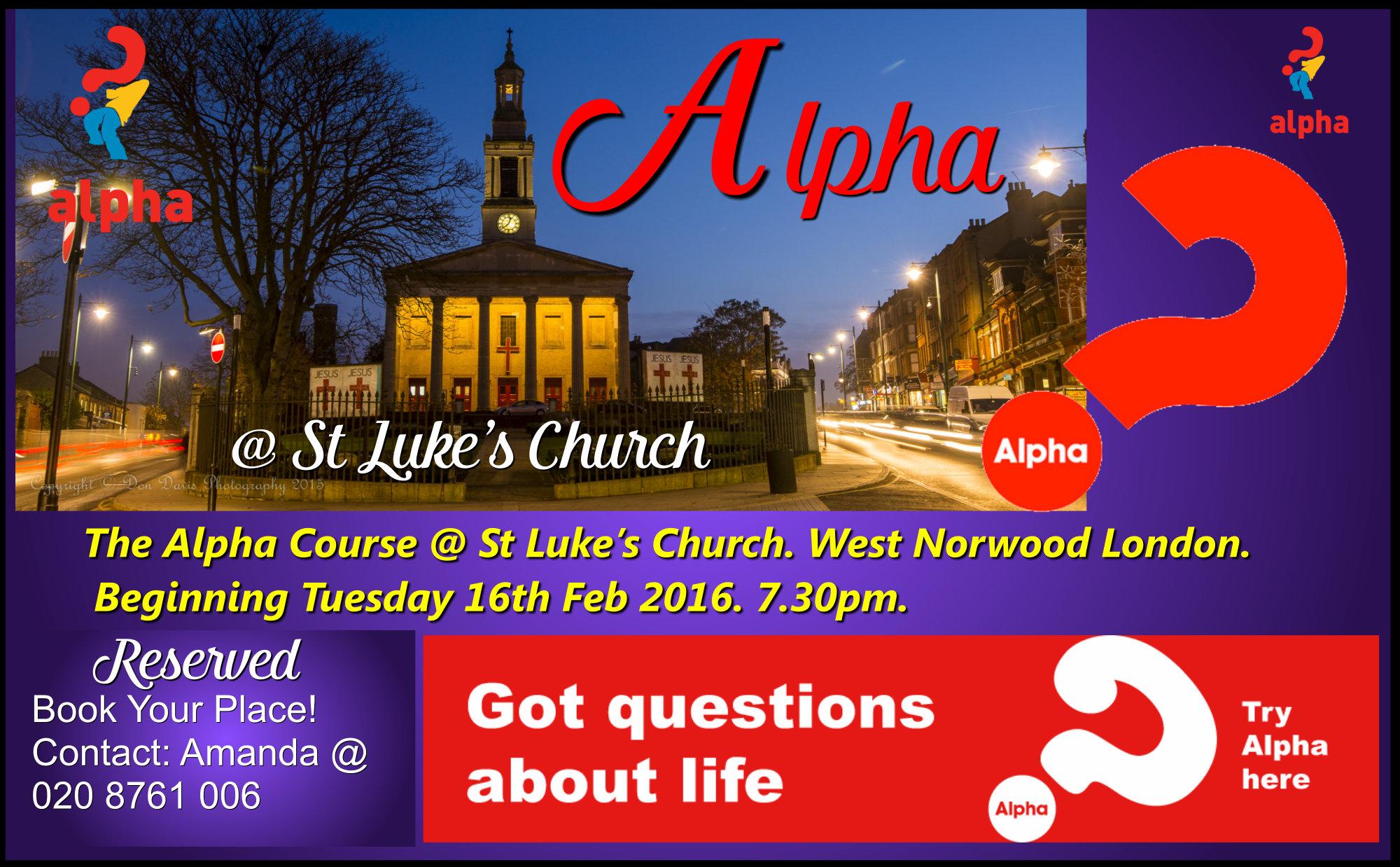 The Christian Basics Course Alpha