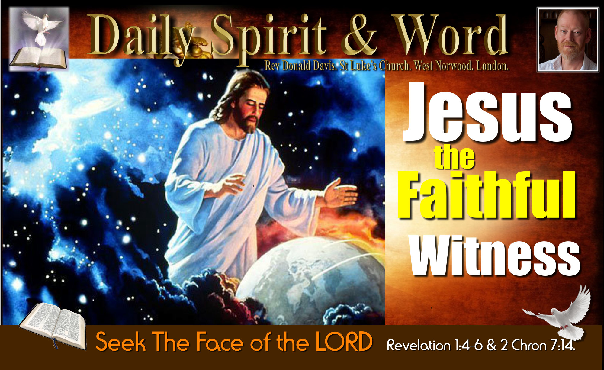 Being a faithful witness for Jesus
