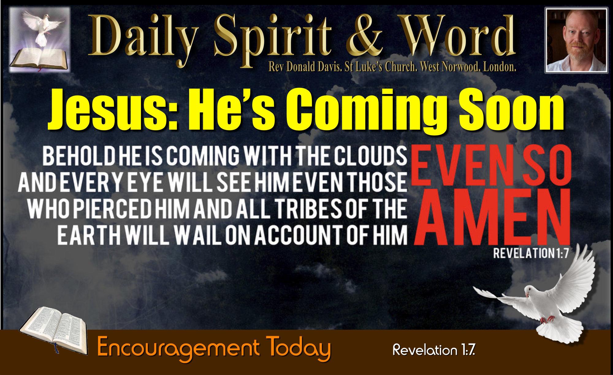 Every Eye Shall See Him: Jesus