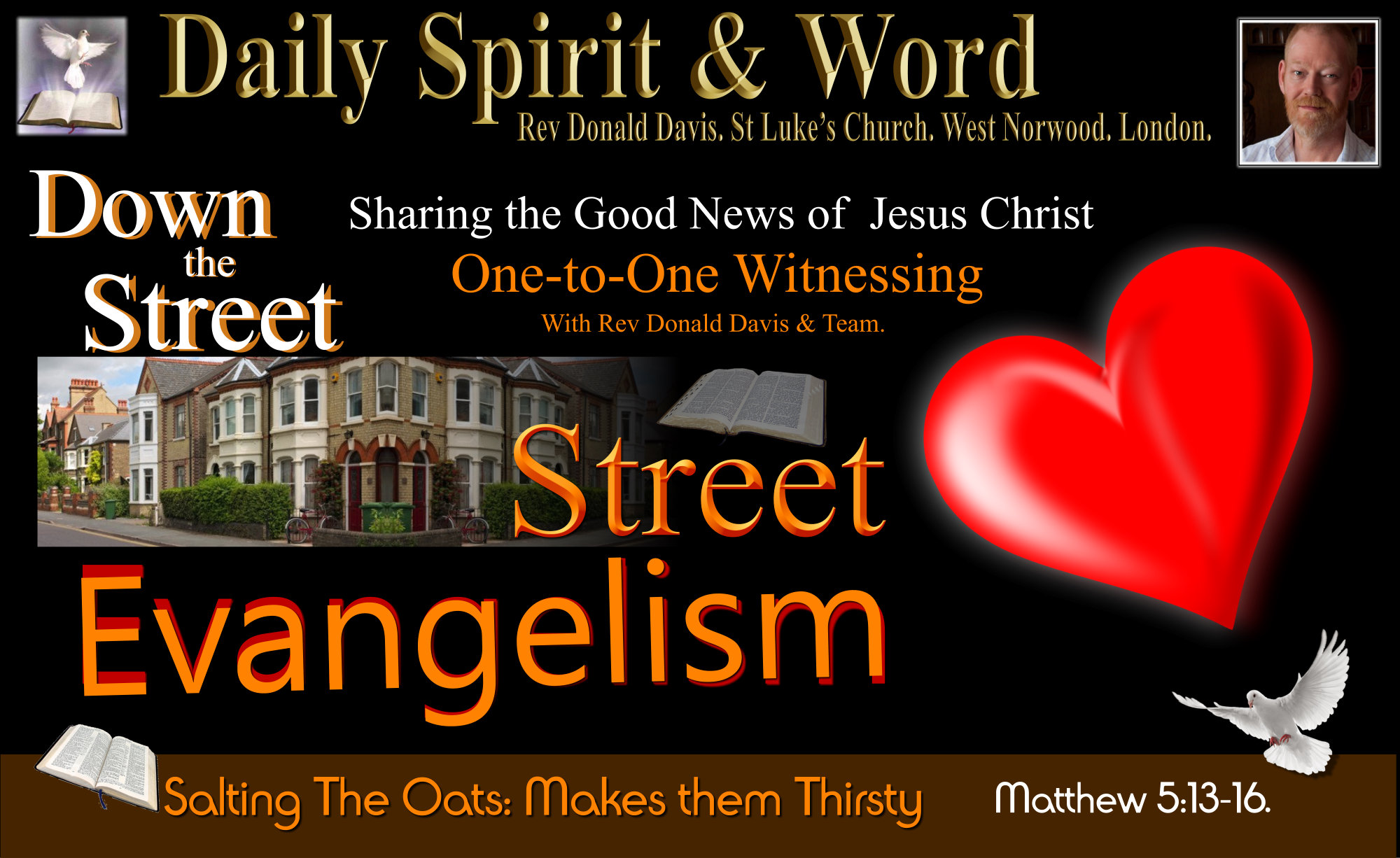 Street Evangelism can sometimes be tough, but it's always full of joy