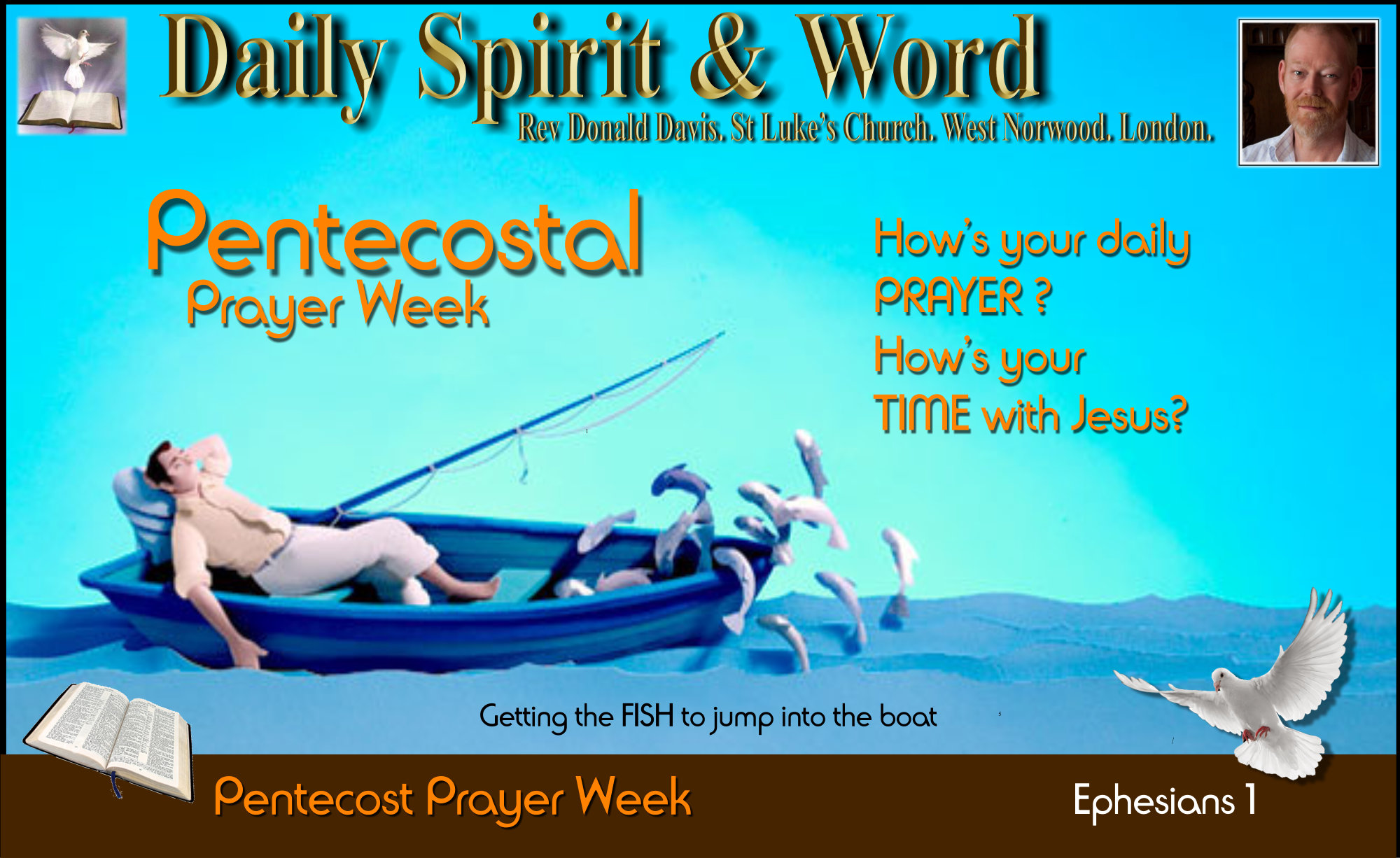 Pentecost Prayer Week, Time with Jesus every day
