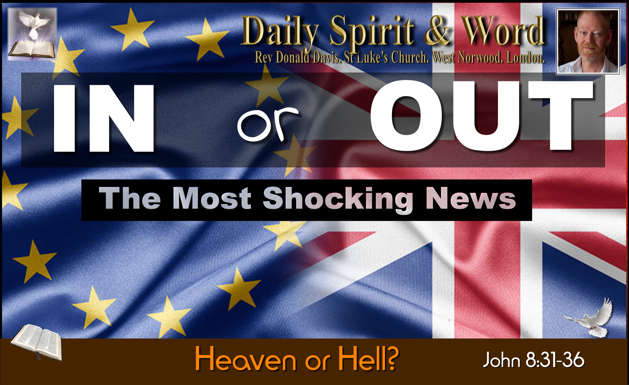 Heaven or Hell, In or Out, EU Referendum, Debate,