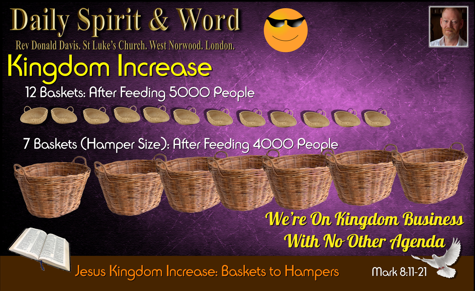 Kingdom Increase, from Baskets to Hampers.