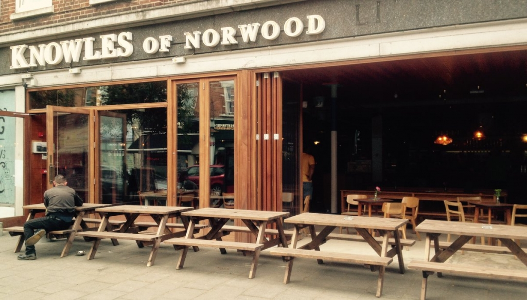 Knowles of Norwood Pub, West Norwood. London.