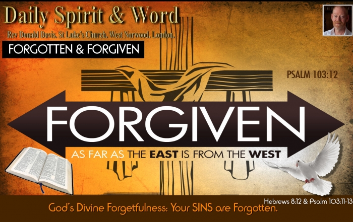 Daily Spirit and Word 777 Divine Forgetfulness