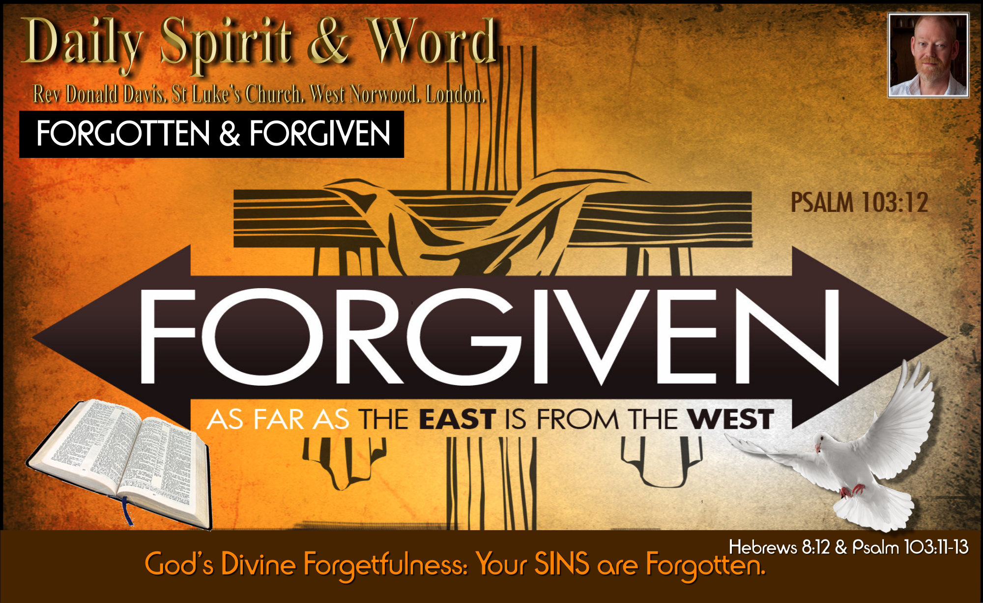 What God chooses to forget, your sins. What God chooses to Remember, your good deeds