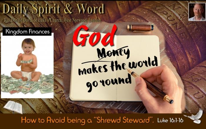 Daily Spirit and Word 778 Kingdom Finances Stewardship