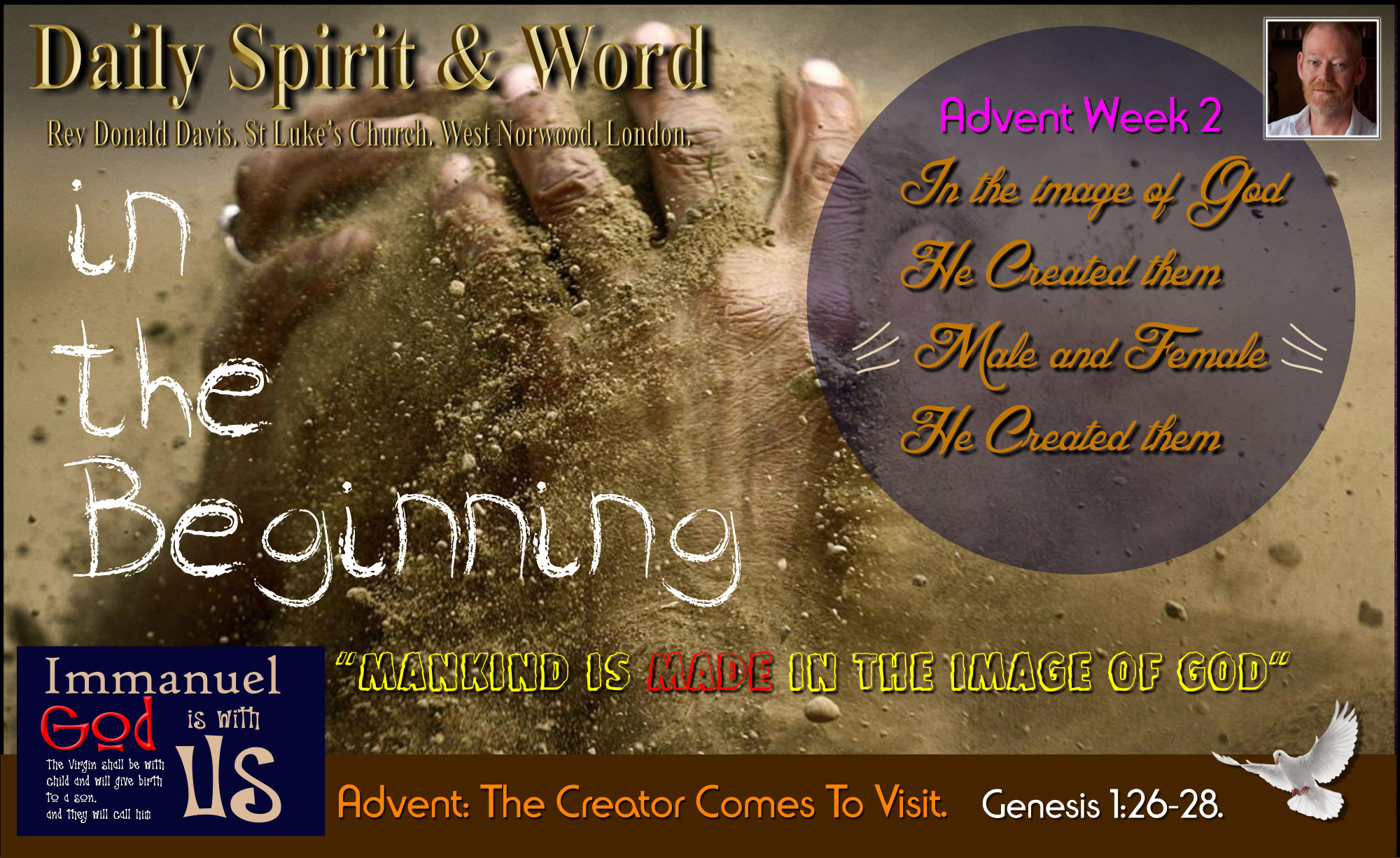 Human Beings are made, created by God