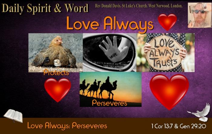 Love Always Perseveres