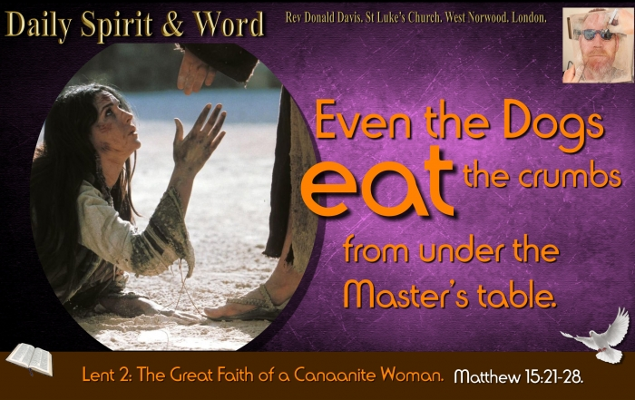 Daily Spirit and Word 824 Great Faith